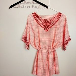One September Euphemia Peasant Tunic Top XS J109S4
